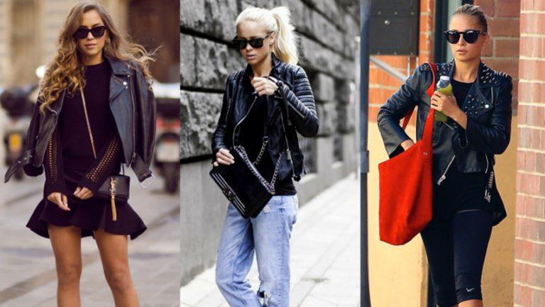 Jacheta din piele-un evergreen in orice garderoba