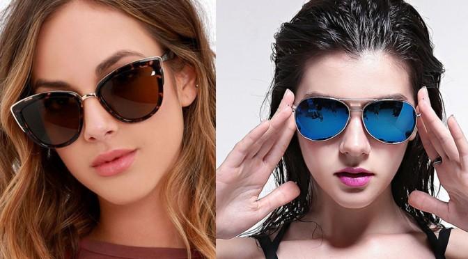 Ochelarii de soare- stilul potrivit in functie de forma fetei