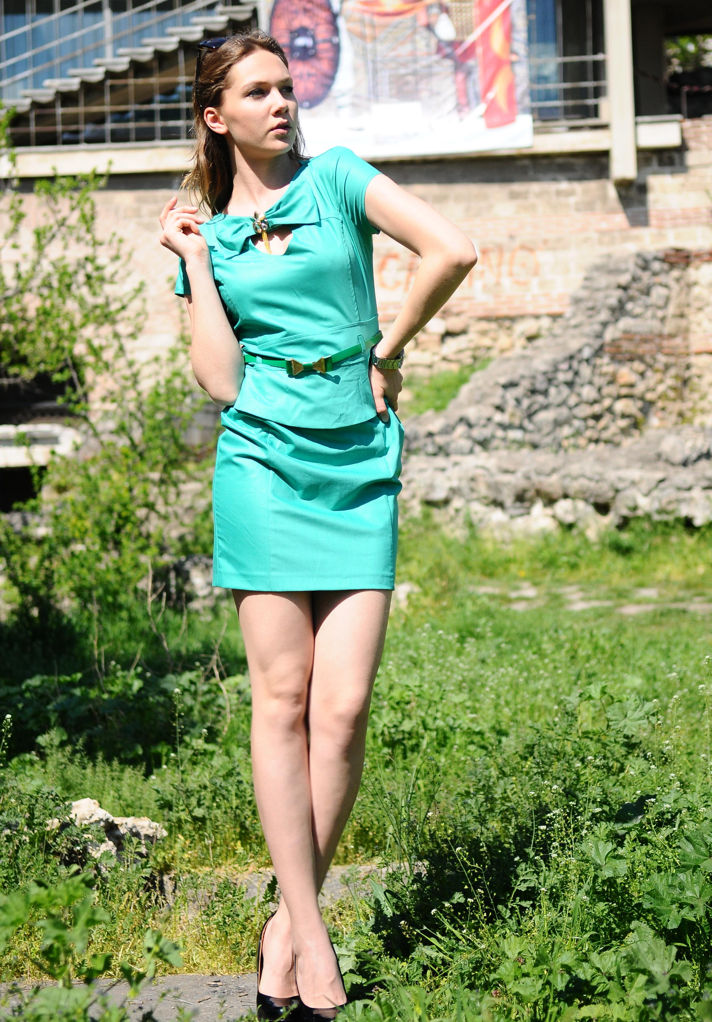 Rochie Blink Verde