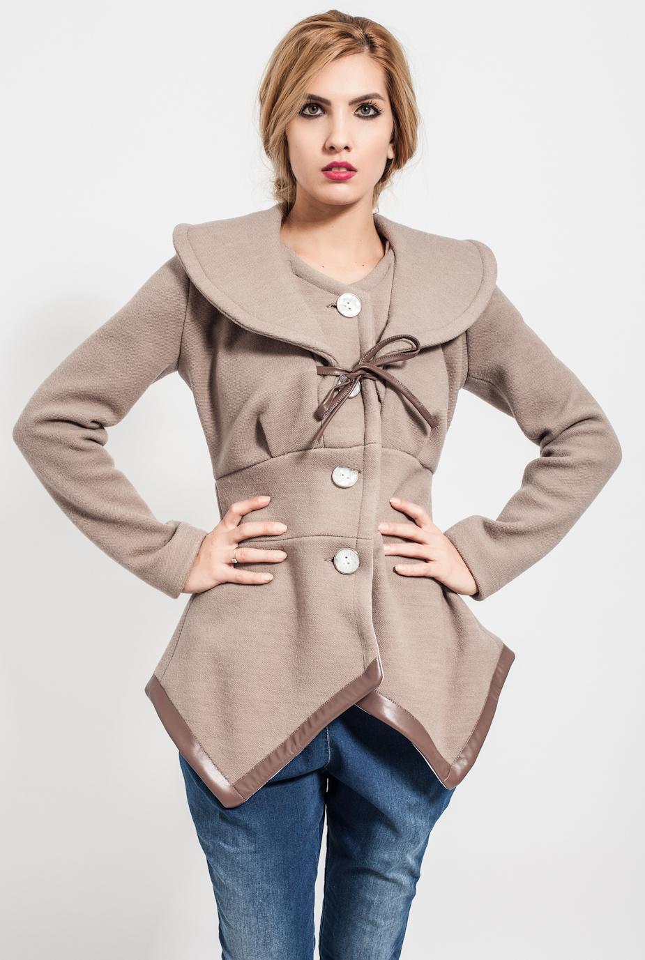 Palton Tulia Caramel