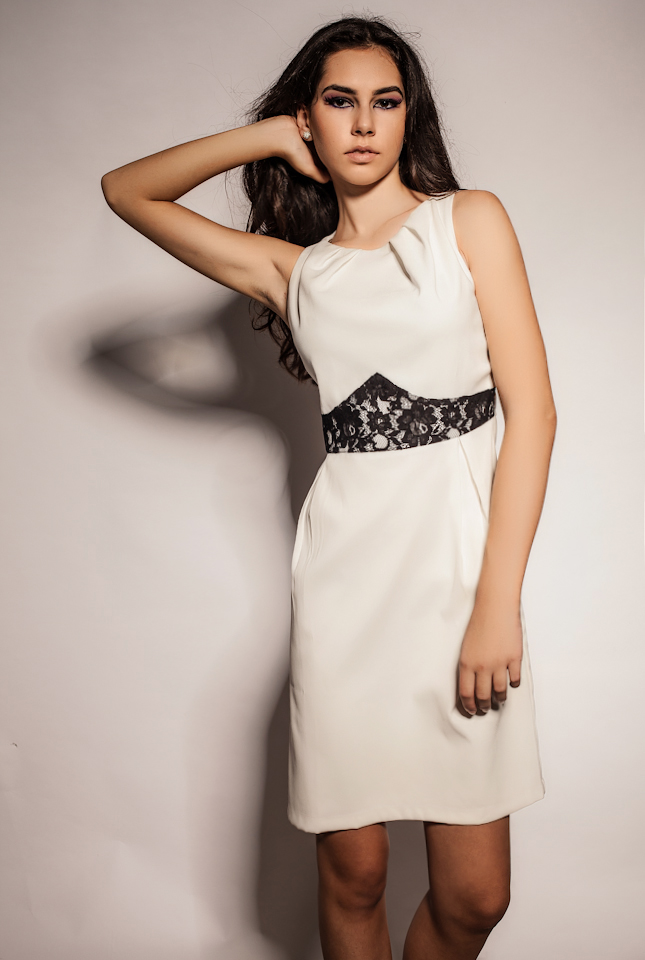 Rochie Noryna Alba