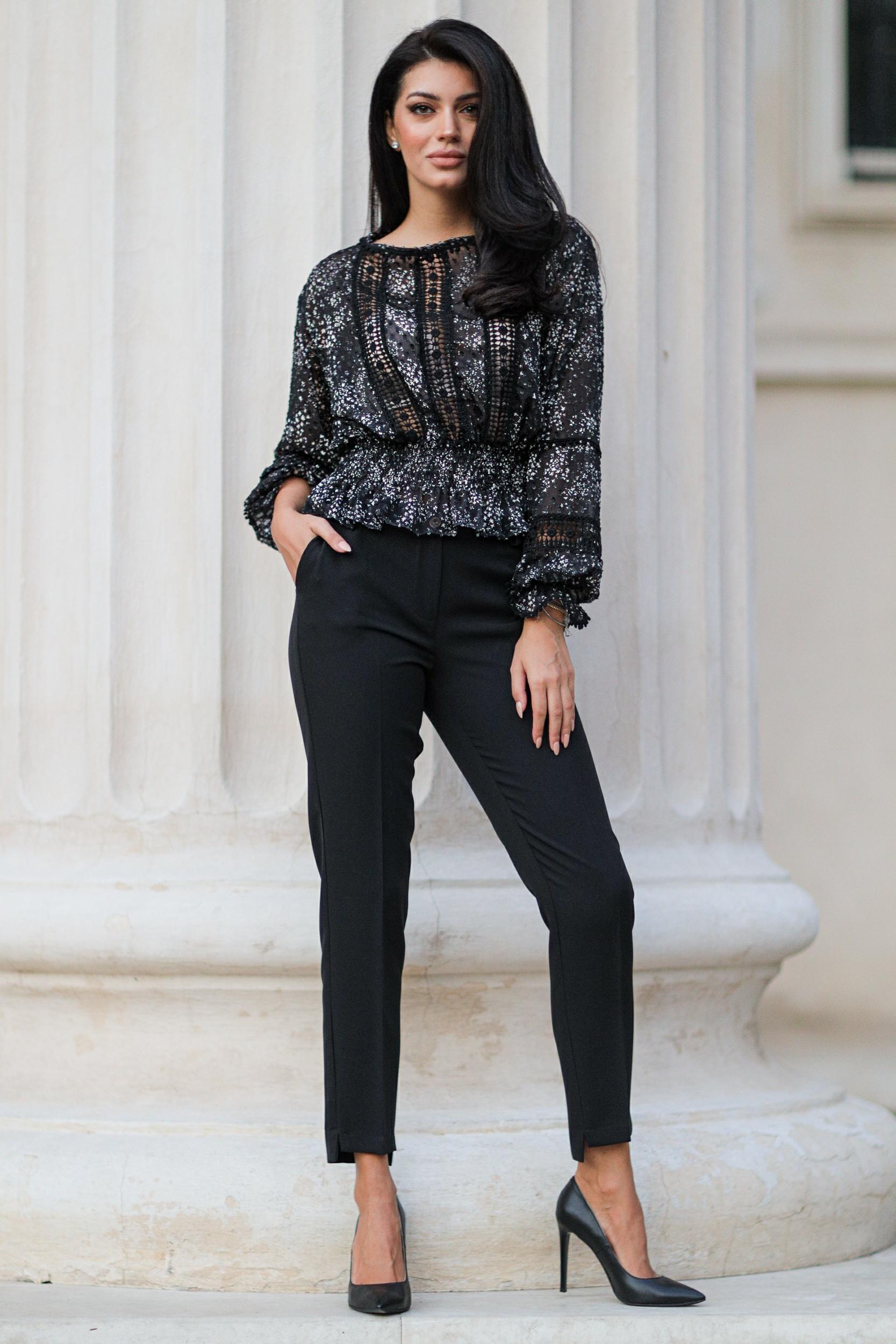 Pantaloni Ginno Negri