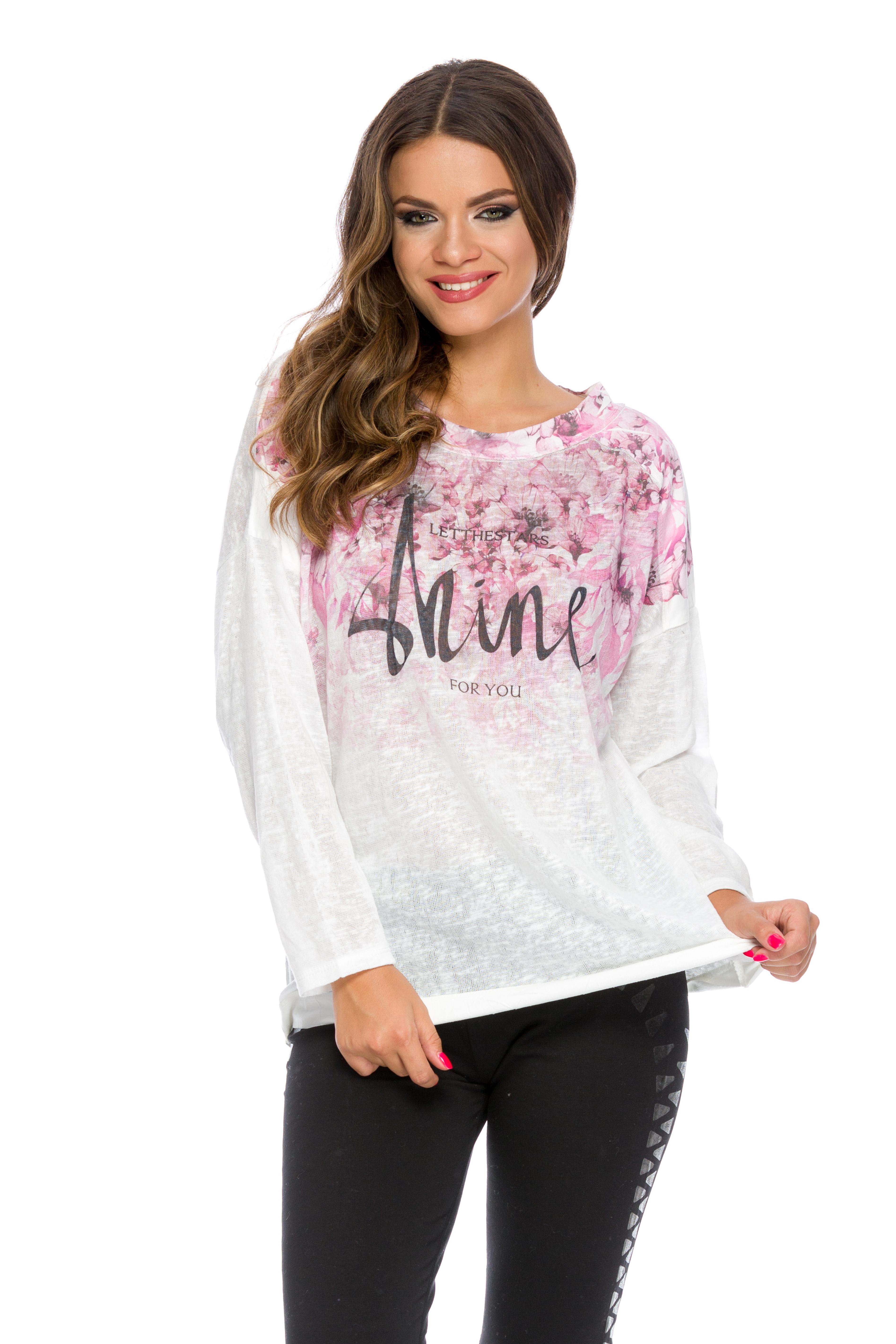 Bluza Shine Roz