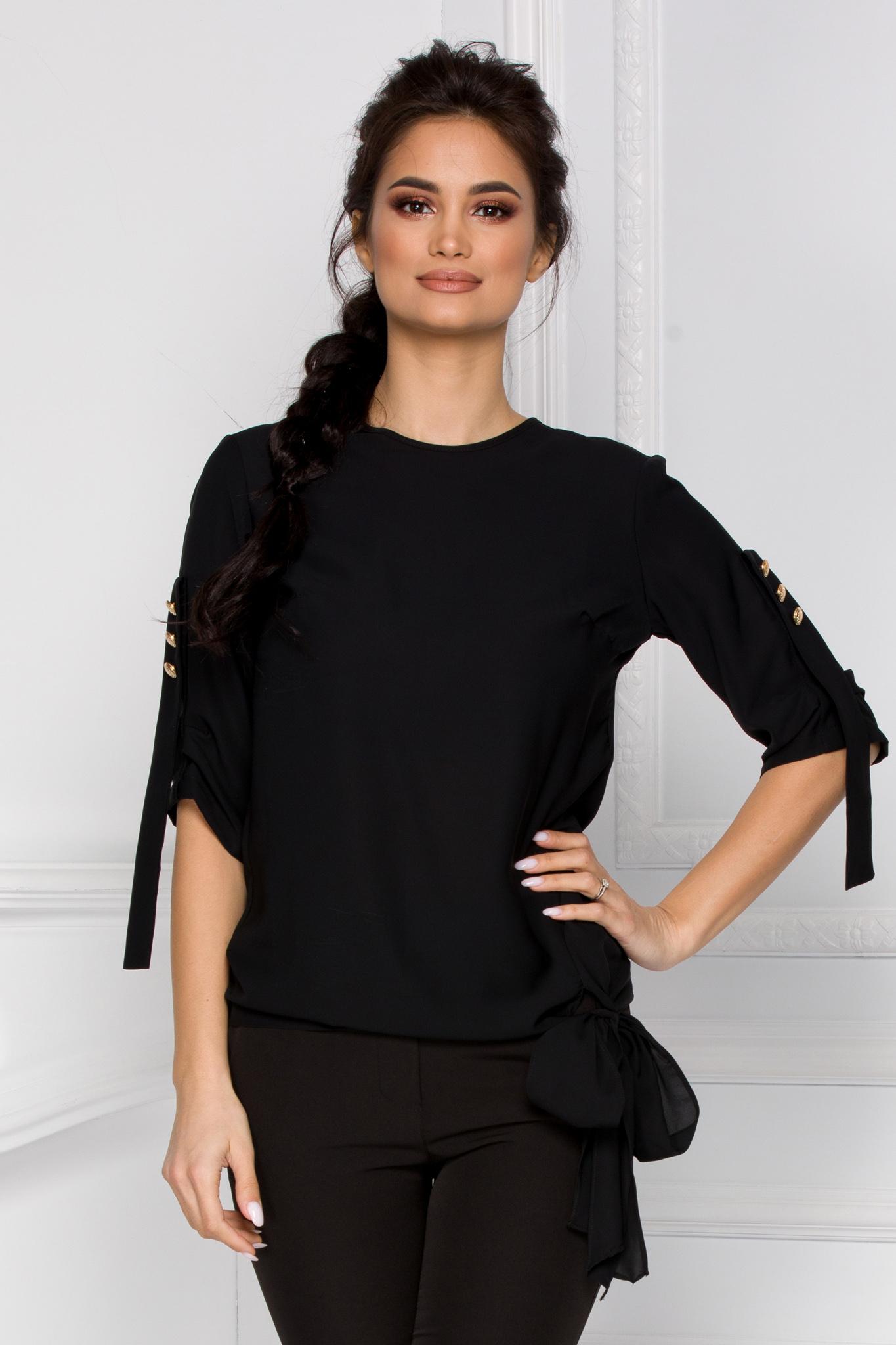 Bluza Elisy Neagra