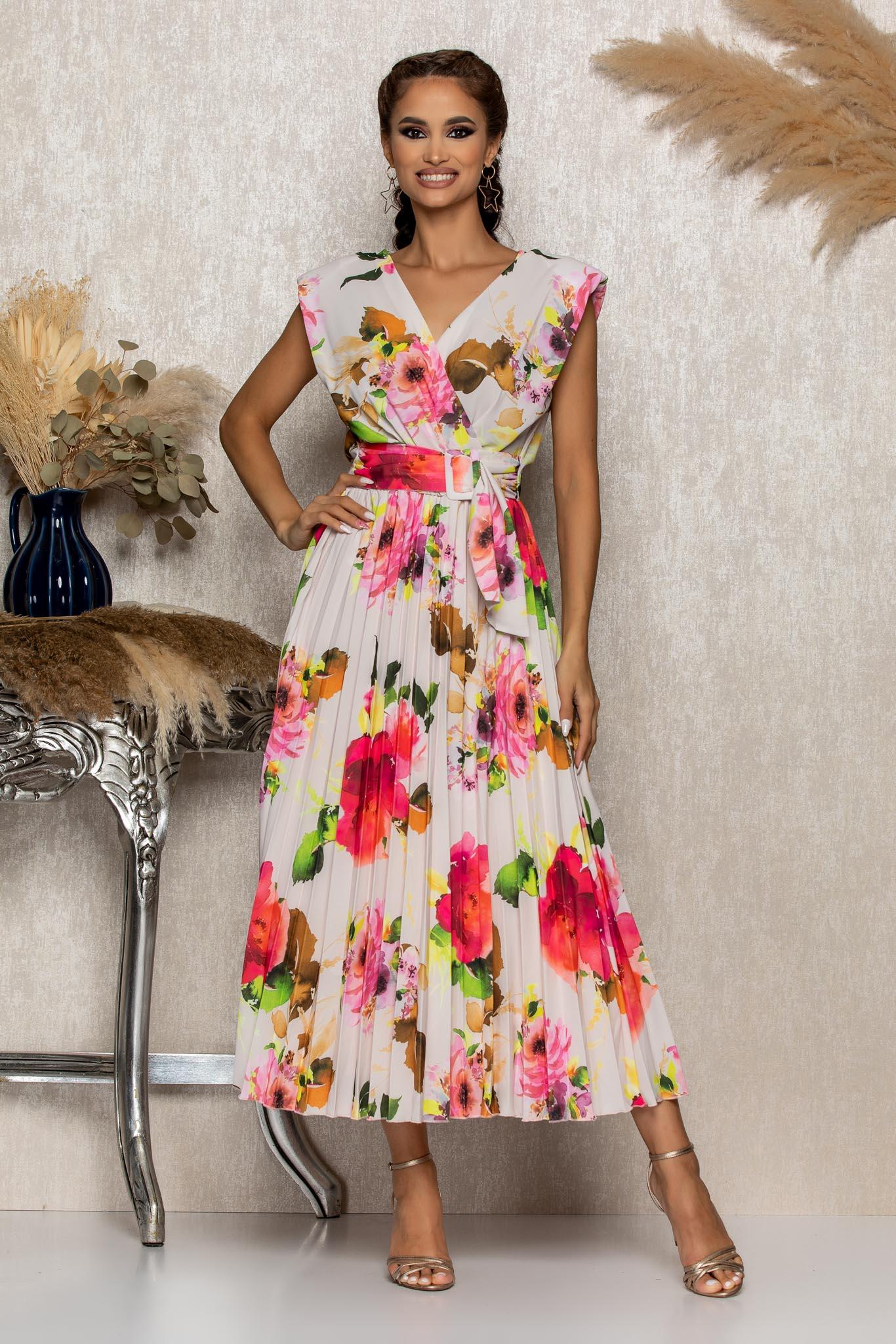Rochie Carmen Rose Floral