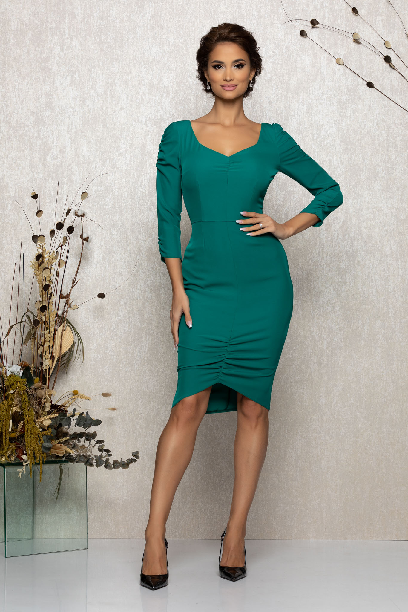 Rochie Celyne Ciclam
