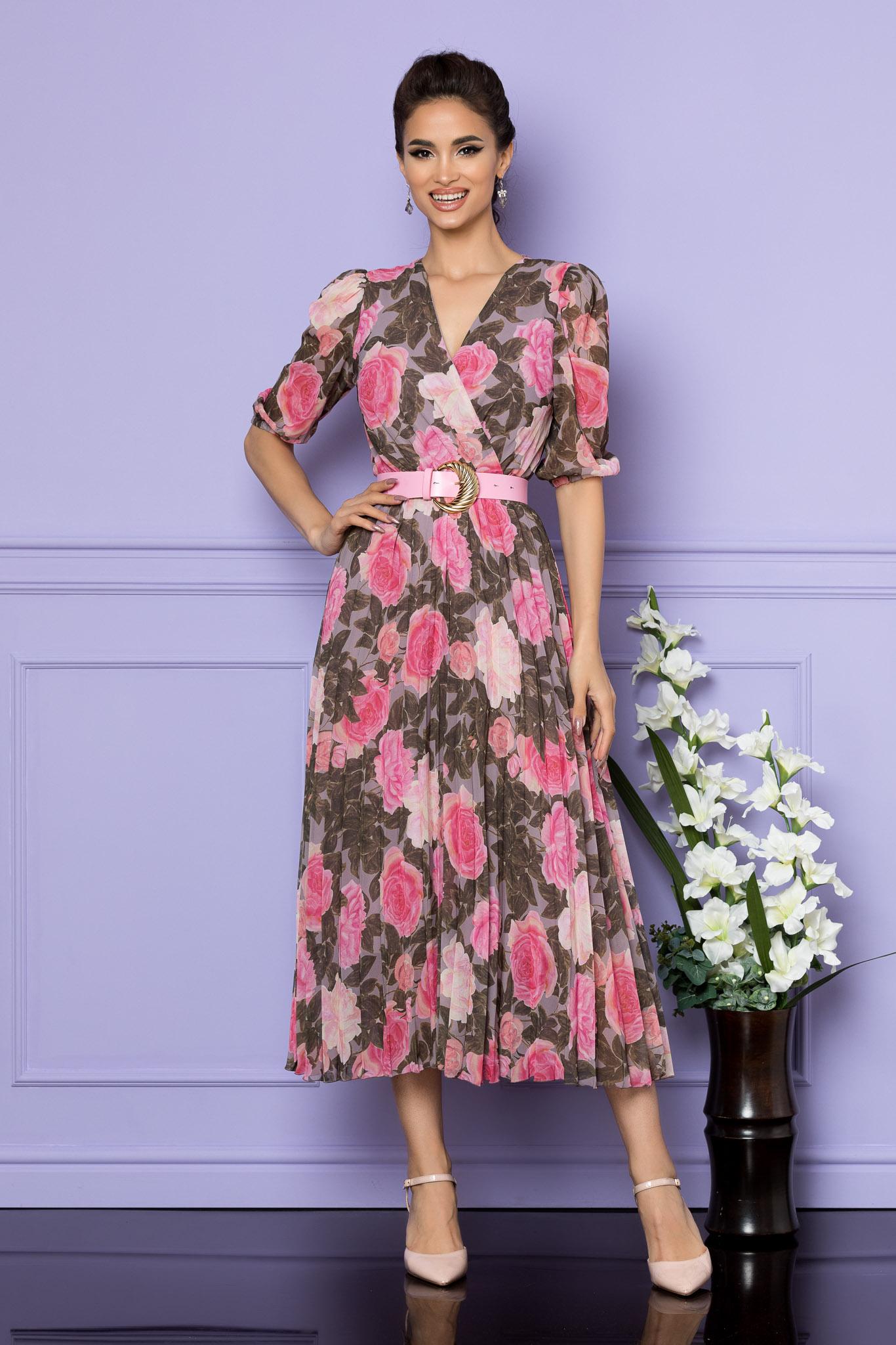 Rochie Cryna Multi Floral