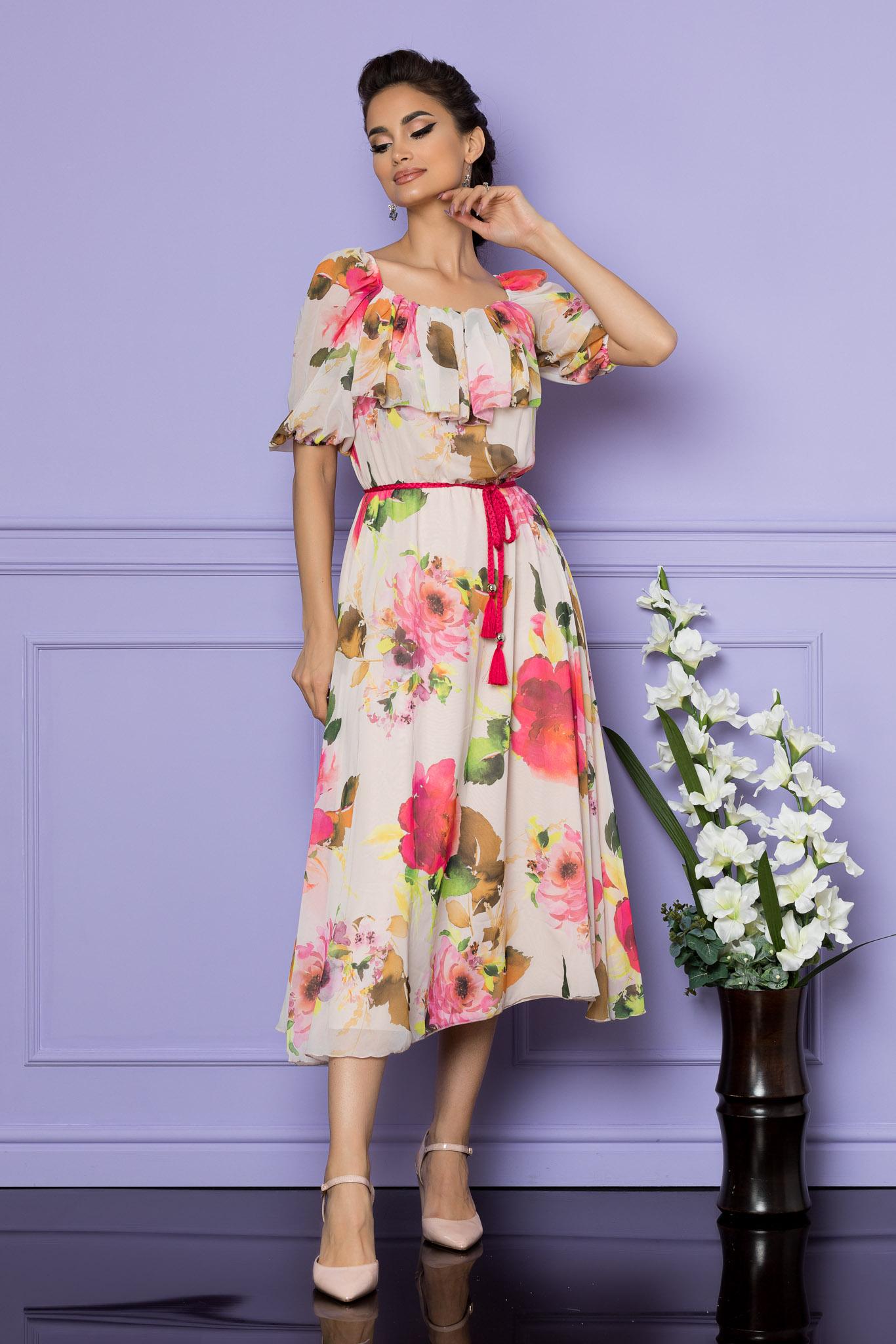 Rochie Karina Rose Floral