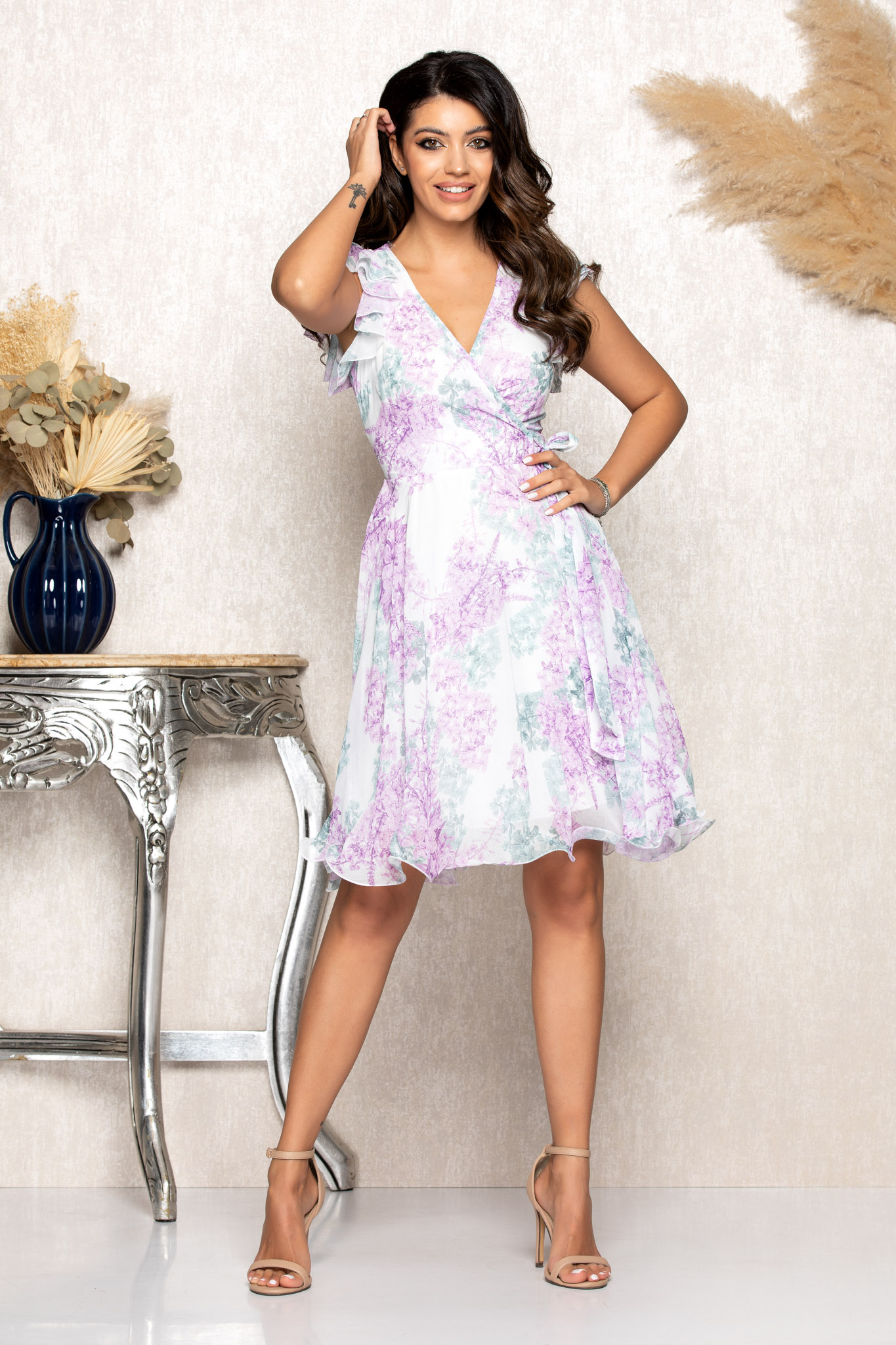 Rochie Heidy Lila Floral