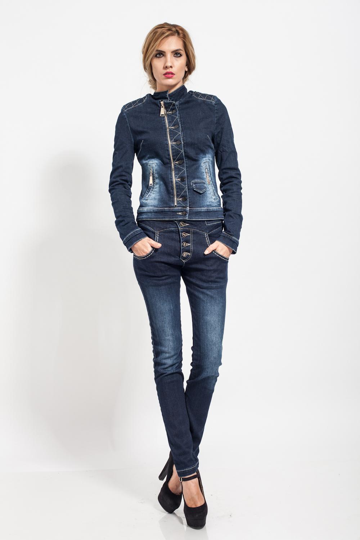 Pantaloni Nixie Albastri