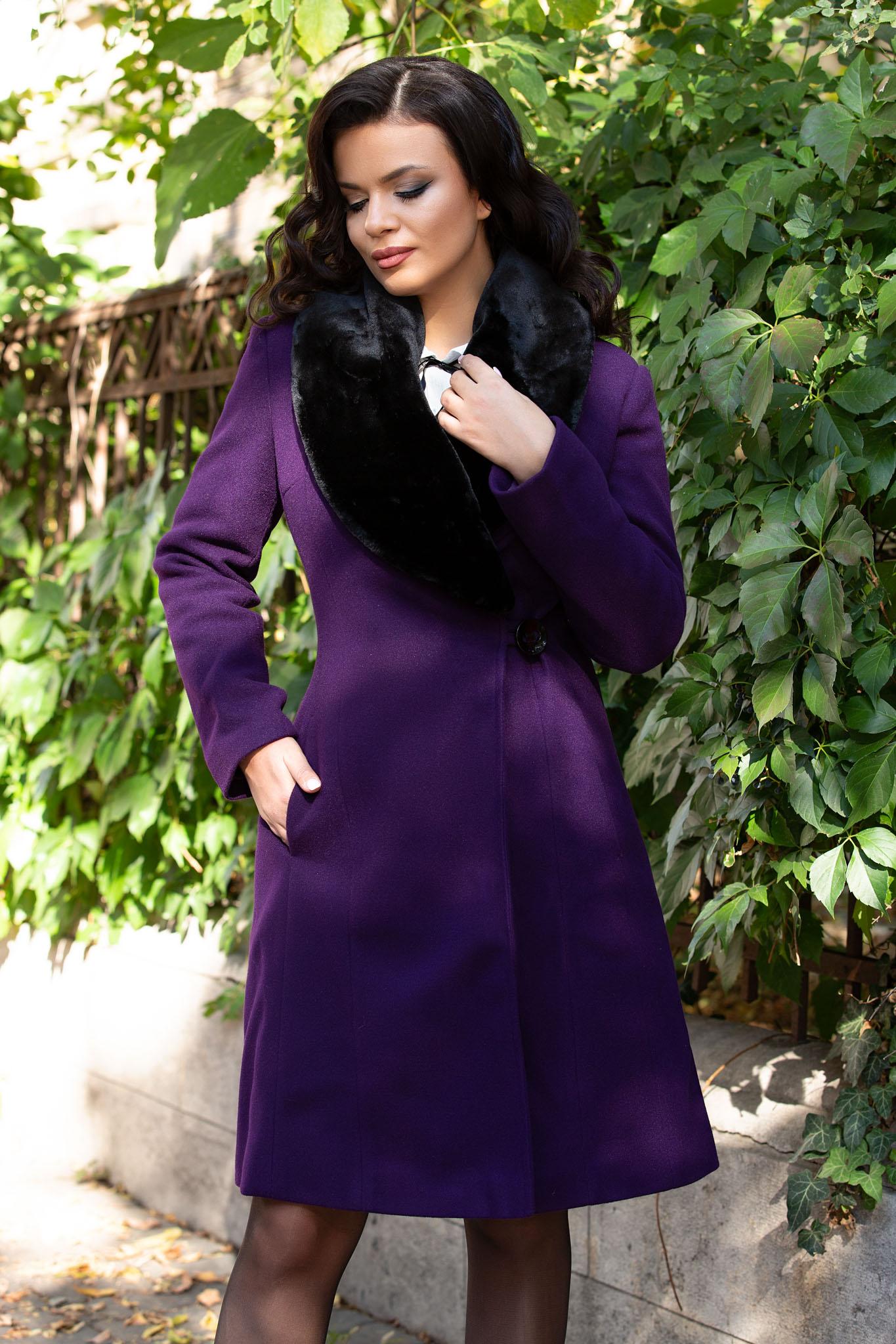 Palton Vogue Bordo