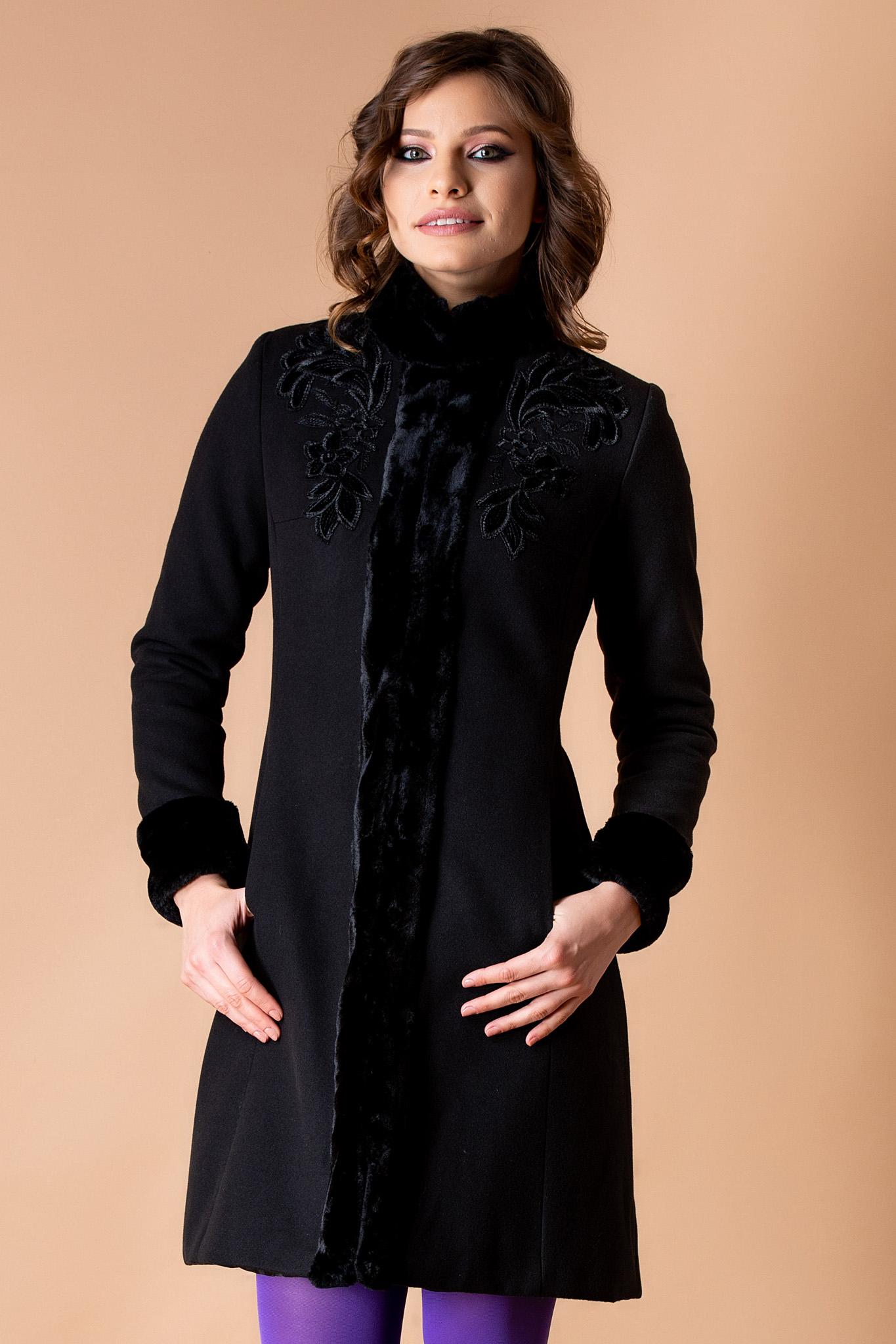 Palton Luxury Negru