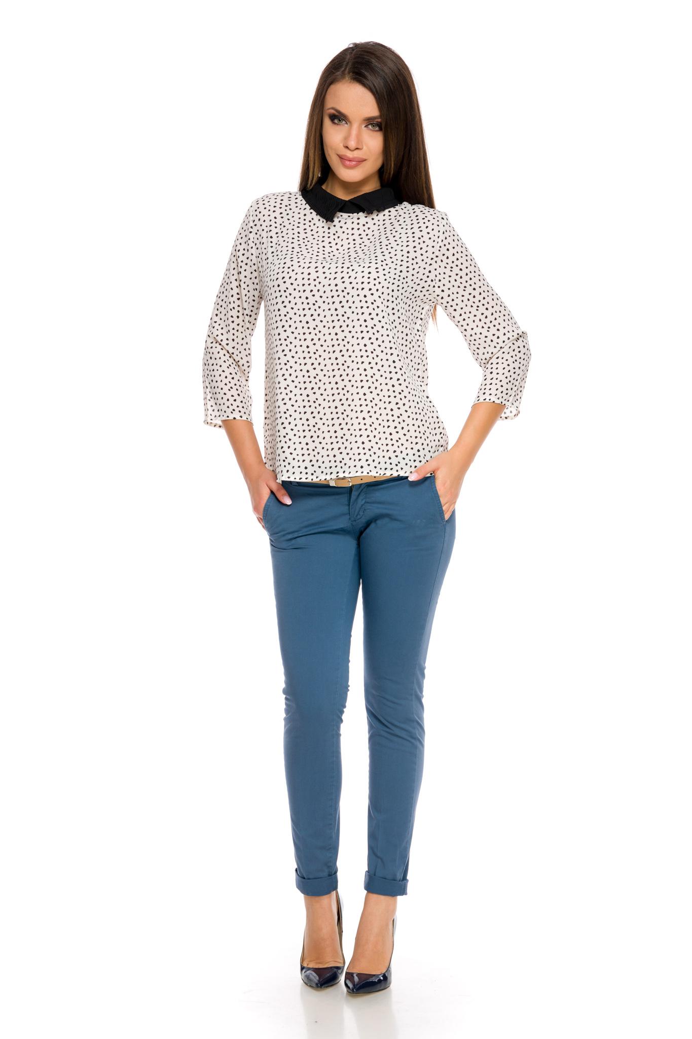 Pantaloni Joy Bleumarin