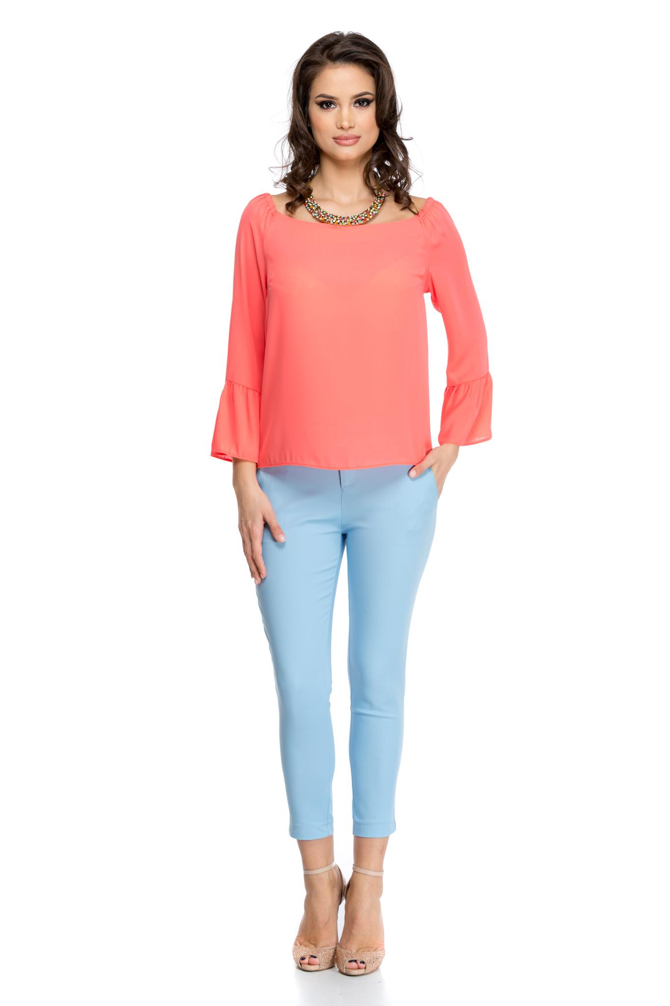 pantaloni novis bleu