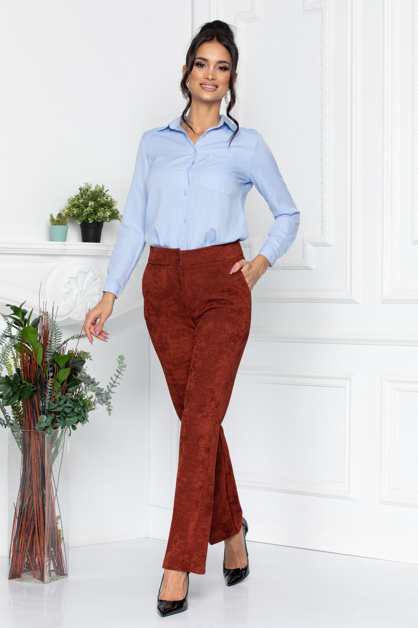 Pantaloni Will Caramizii