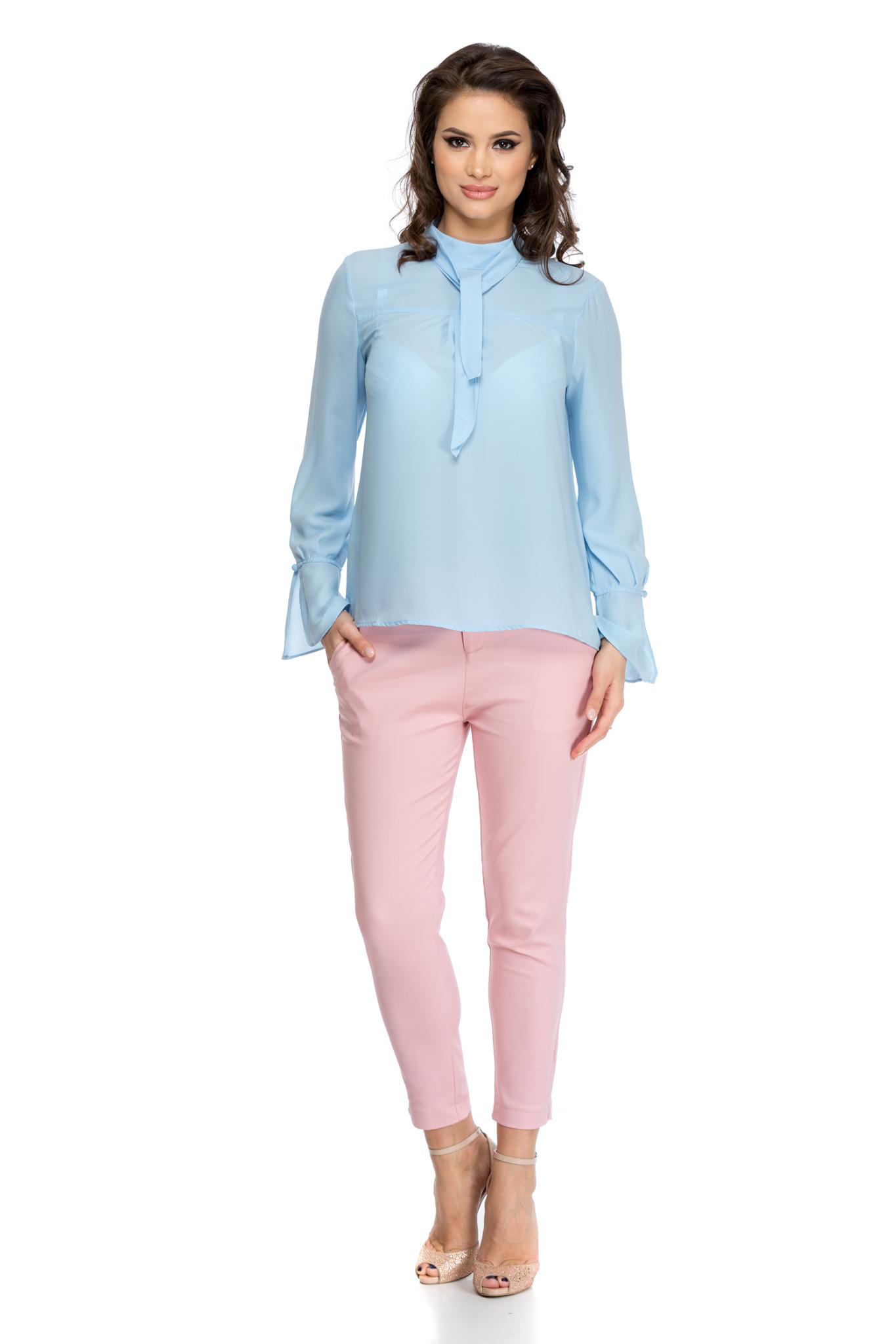 pantaloni novis roz