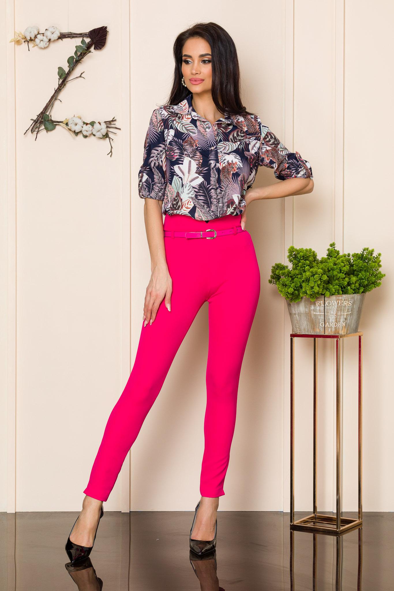 pantaloni ciclam 2