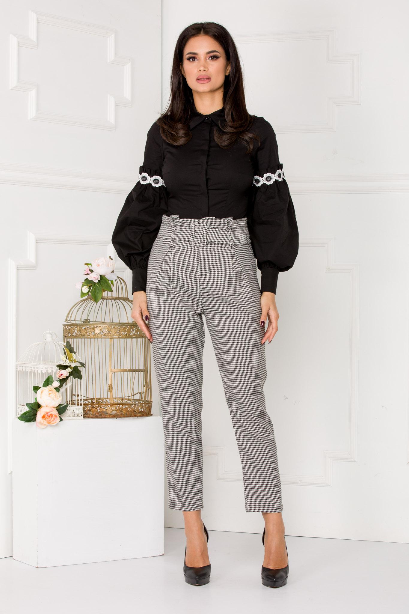 Pantaloni Oliver Bicolori