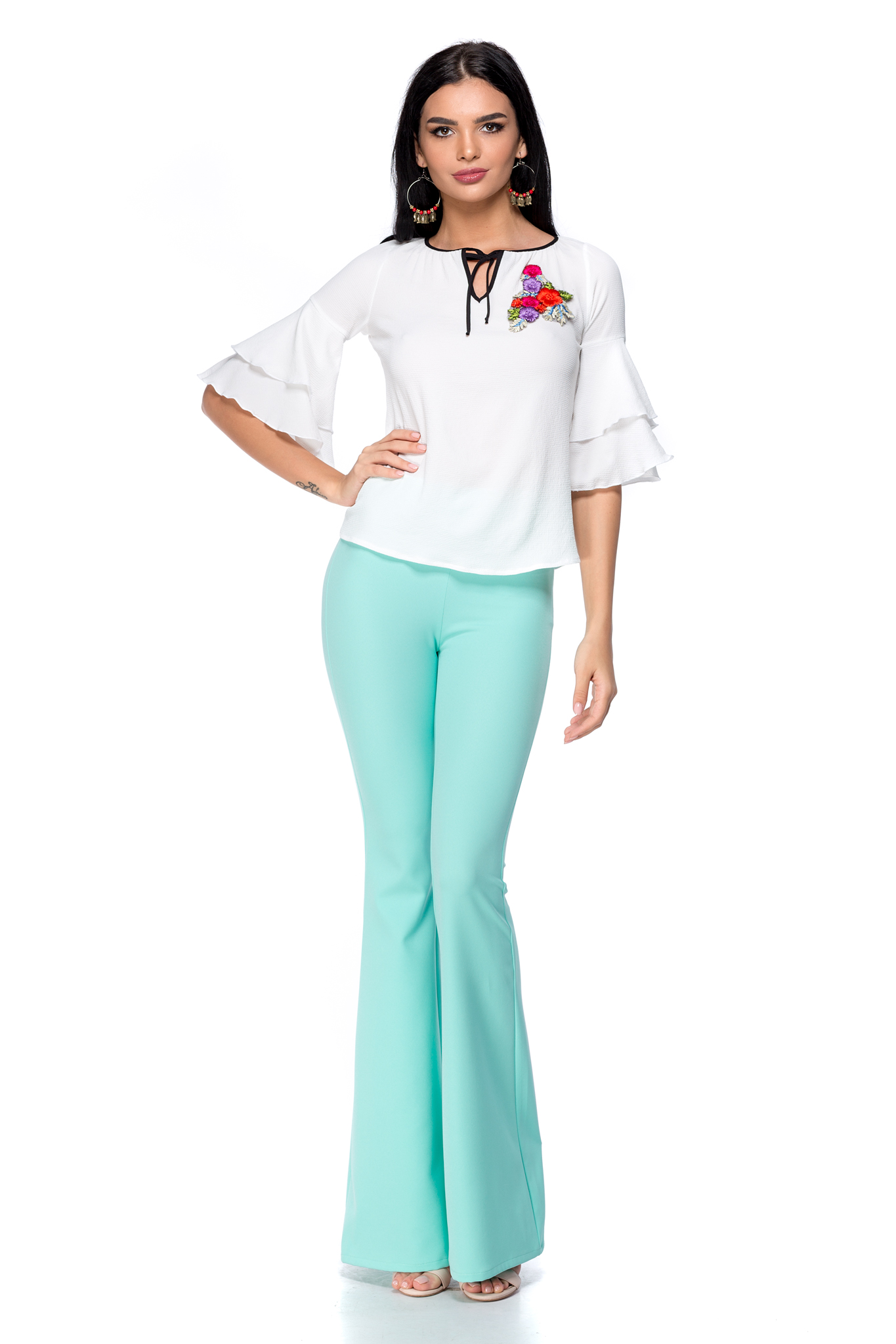 Pantaloni Owen Mint