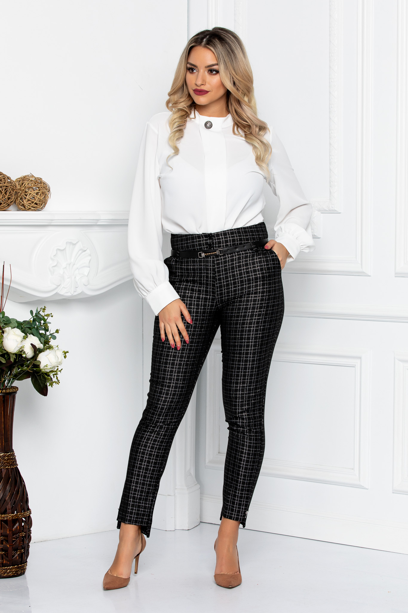 Pantaloni Vogue Negri