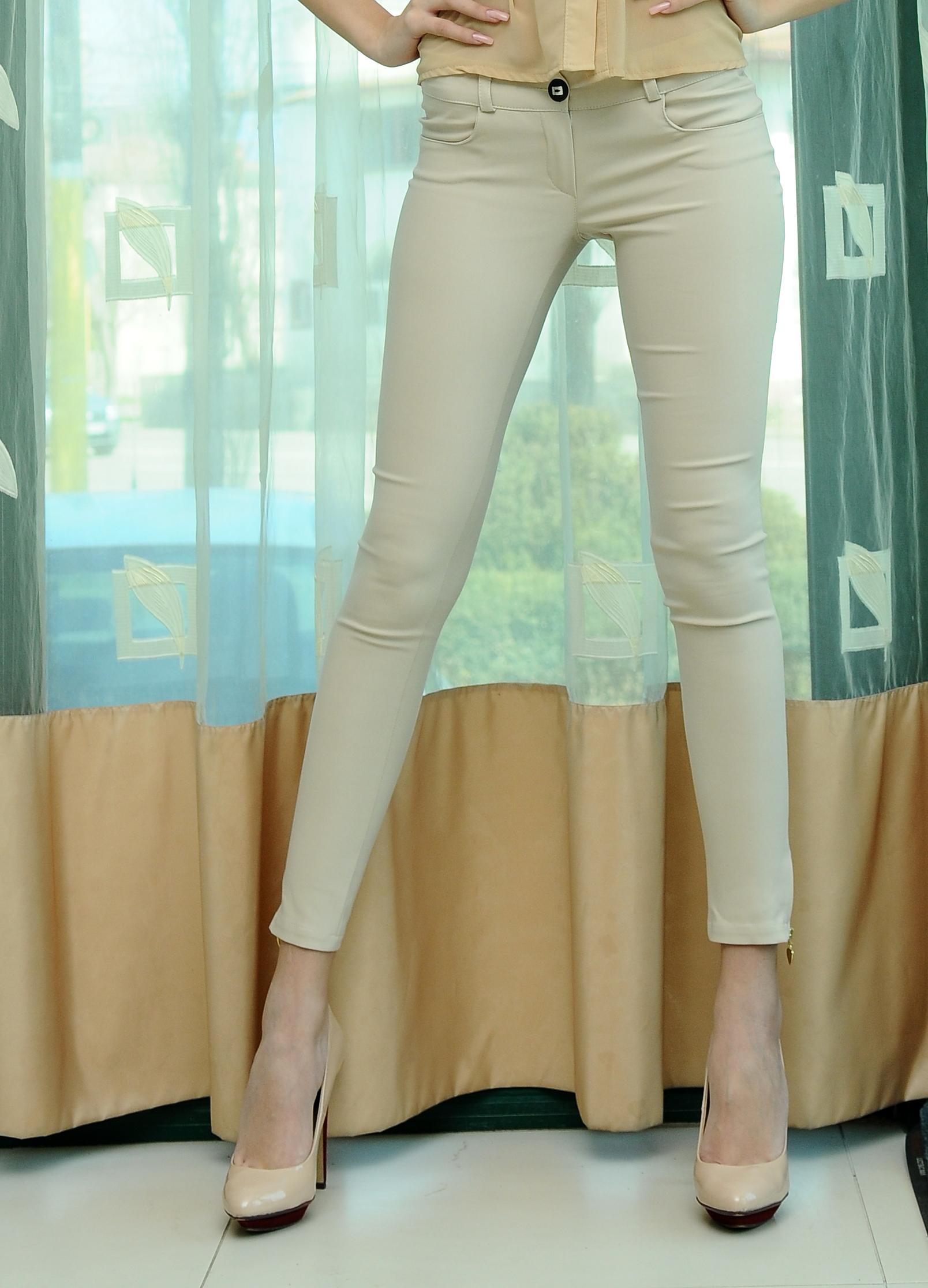 Pantaloni Anise Nude