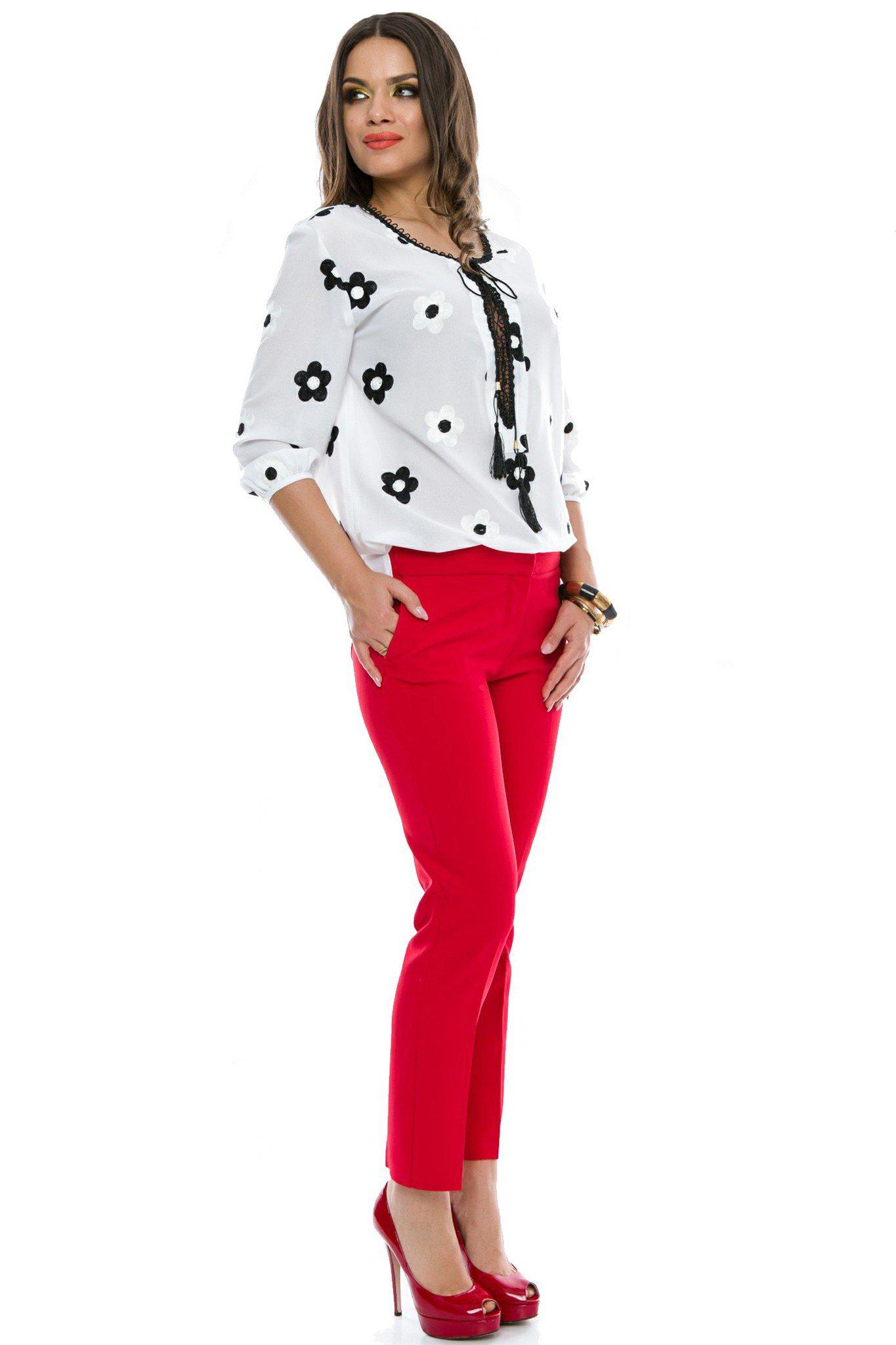 Pantaloni Madison Rosii