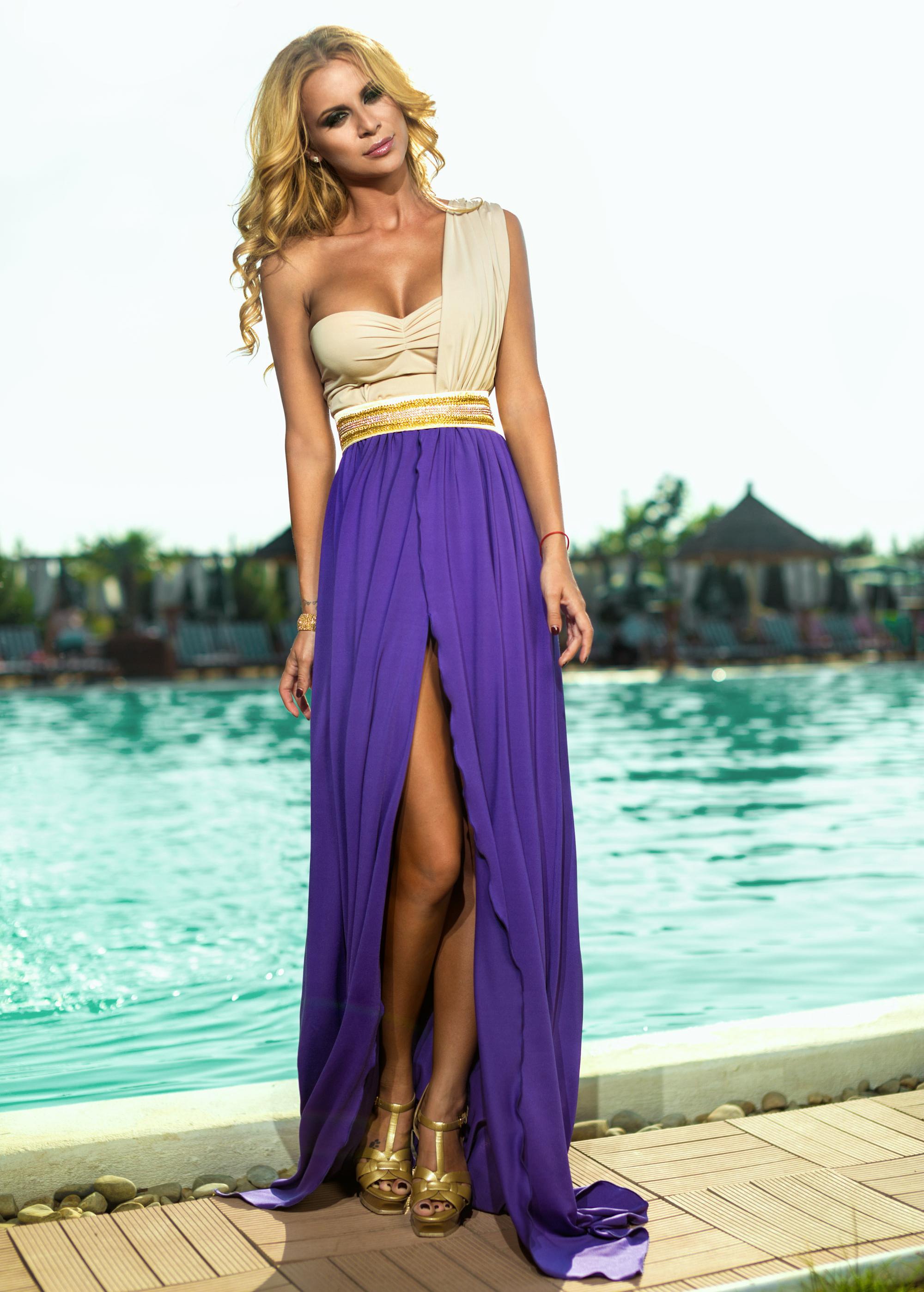 Rochie Desiree Violet