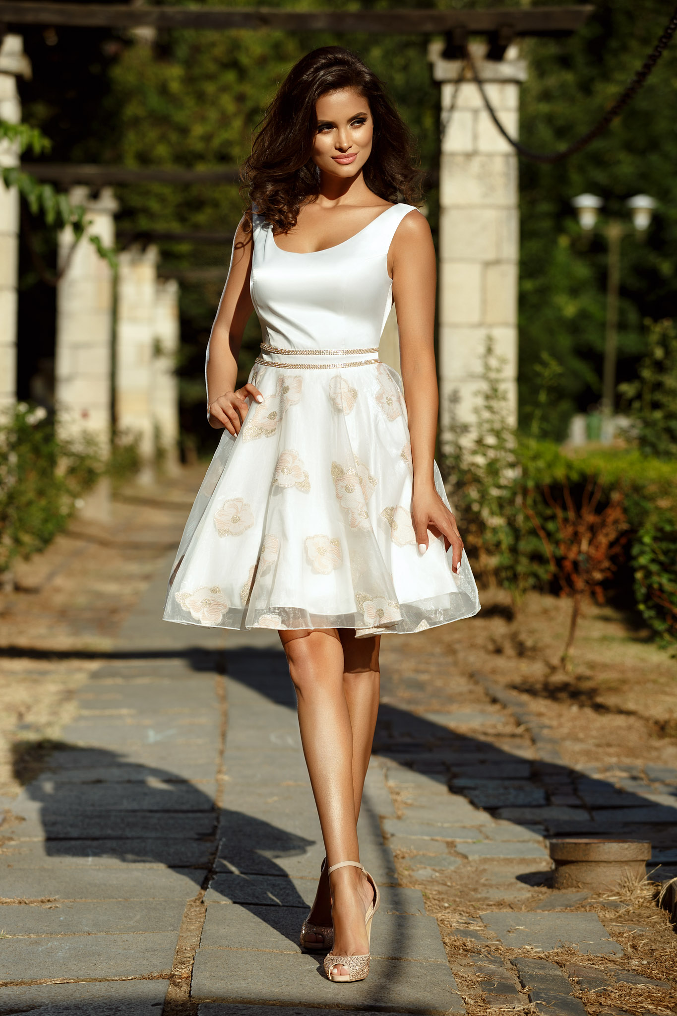 rochie bianka alba