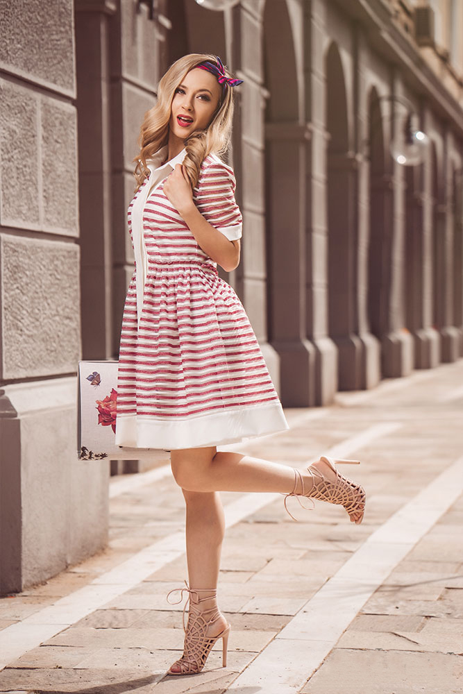 Rochie Stripes Roz