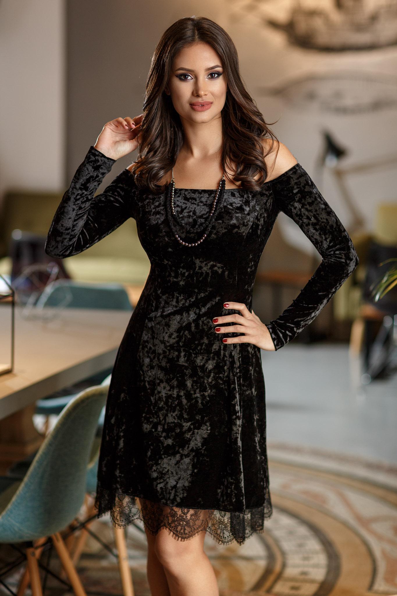 rochie roxy neagra
