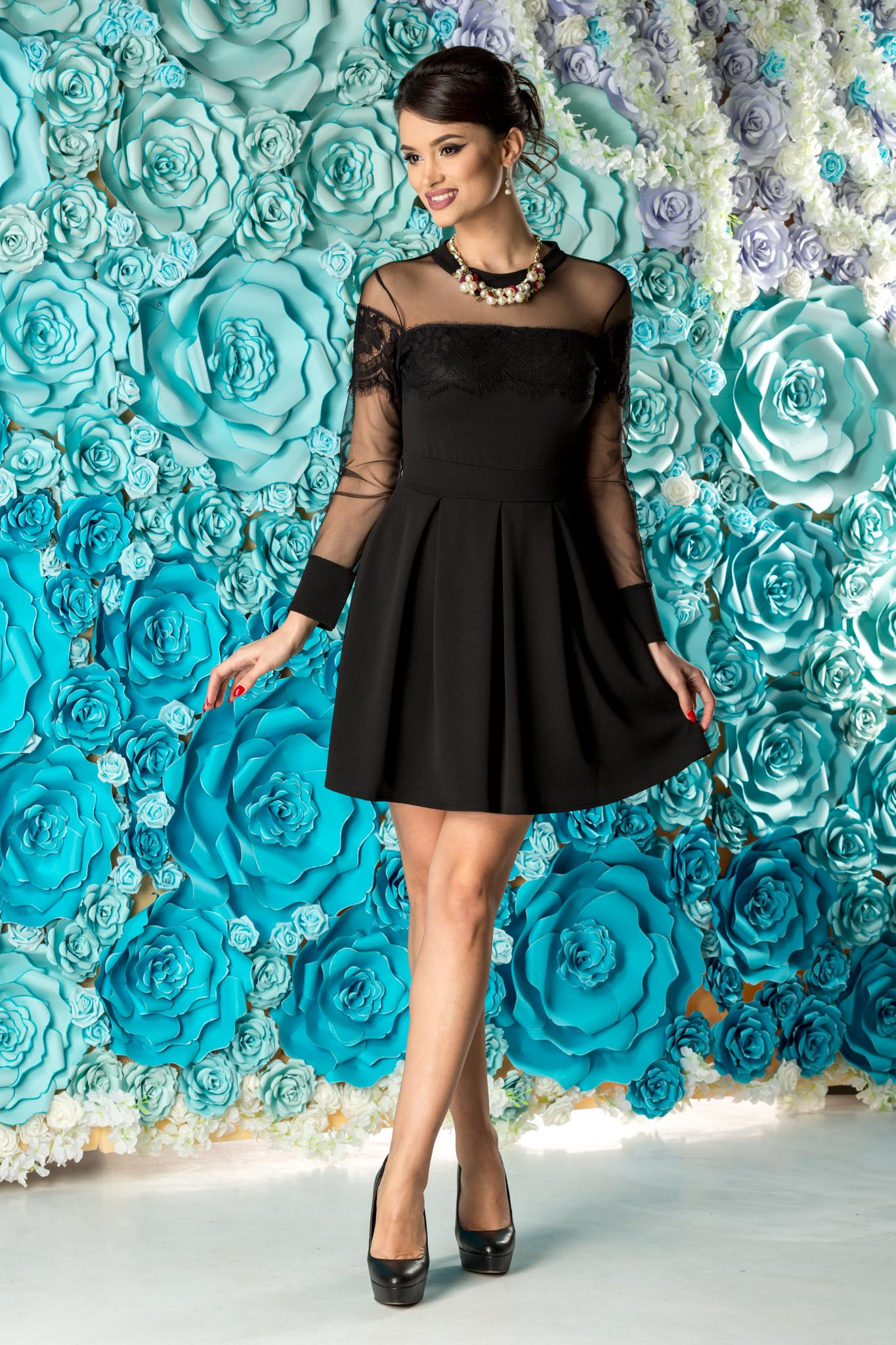 Rochie Anabell Neagra thumbnail