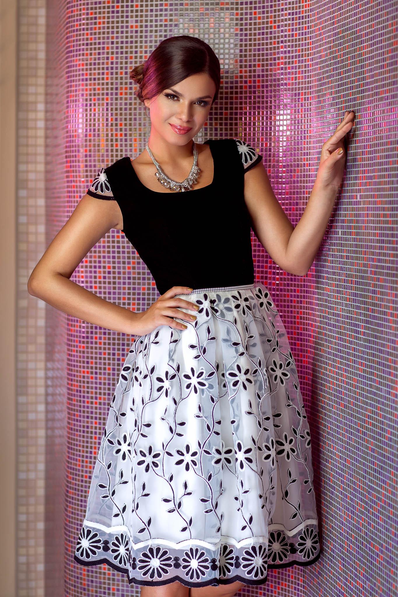 Rochie Krista Bicolora