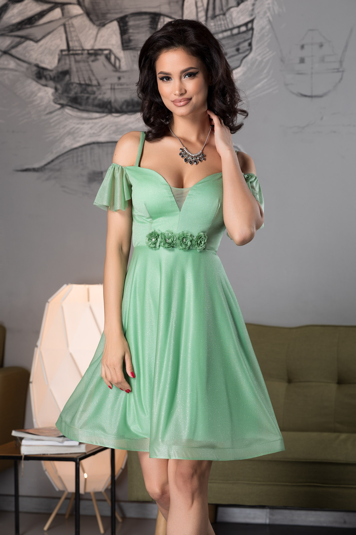 Rochie Sonique Verde