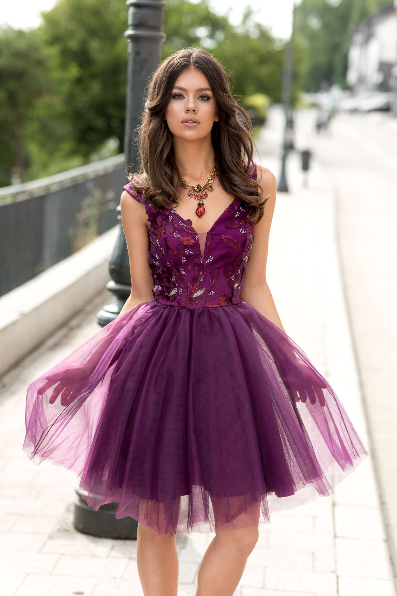 Rochie Delicate Violet