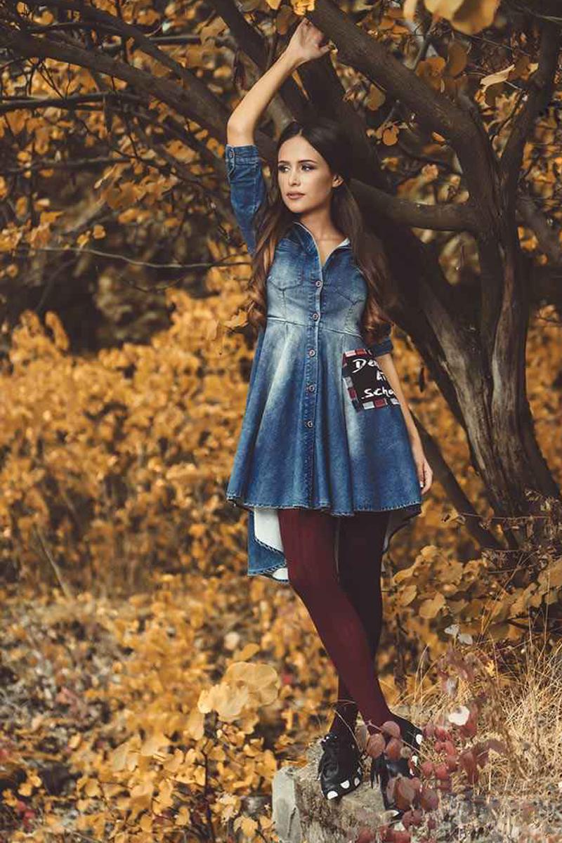 Rochie Girly Albastra