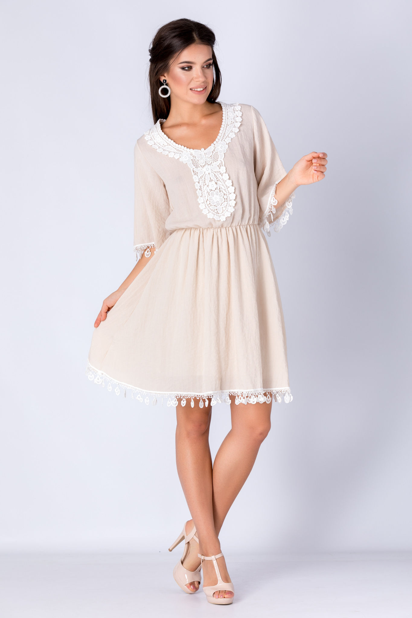 Rochie Melissa Ivory thumbnail