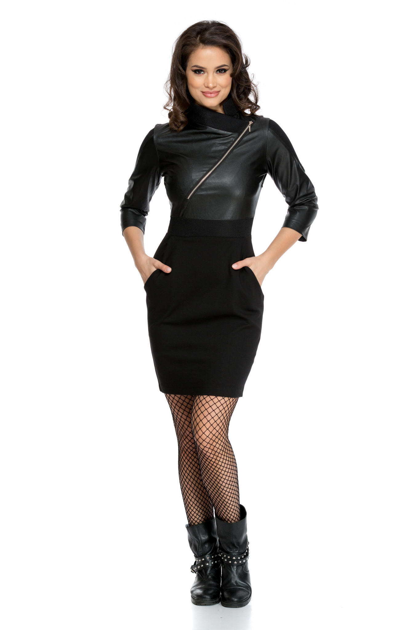 rochie sophisticated neagra