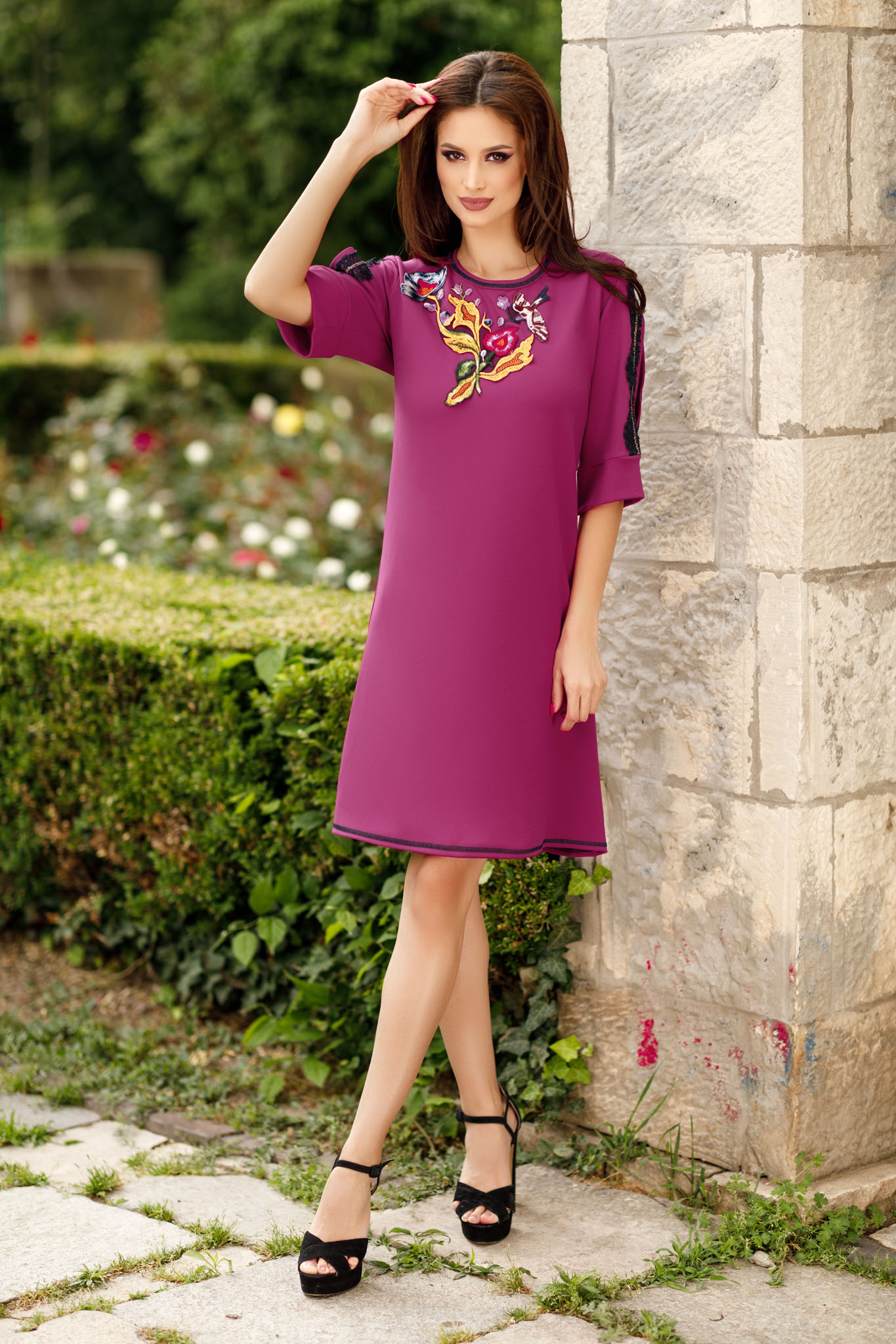 Rochie Linette Ciclam
