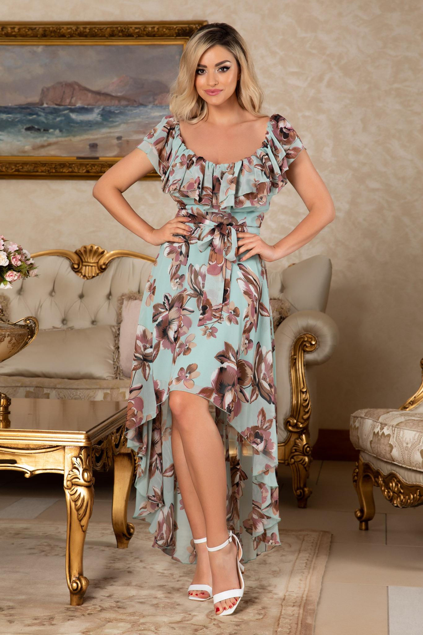 Rochie Yolanda Mint Floral