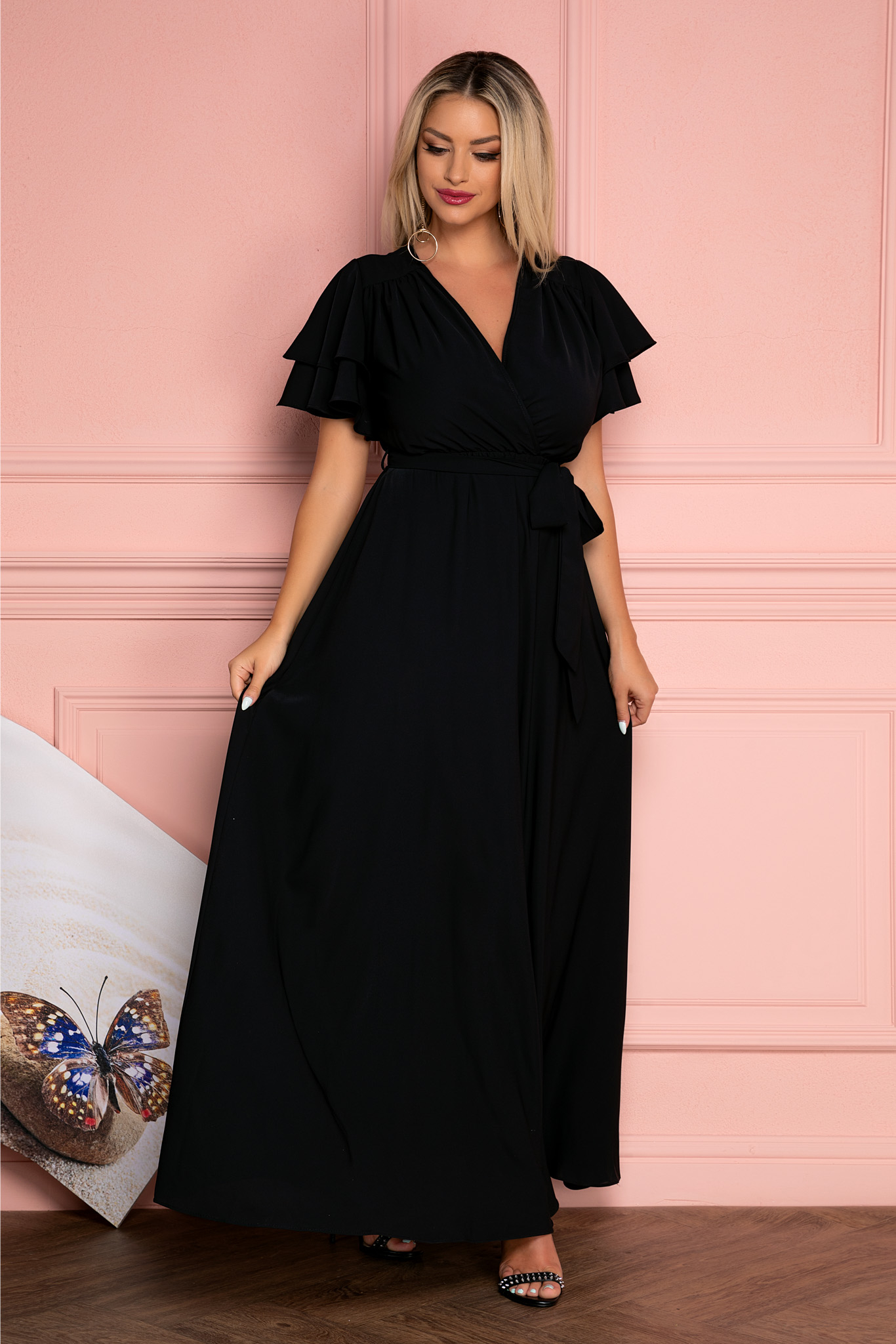 Rochie Isabell Neagra