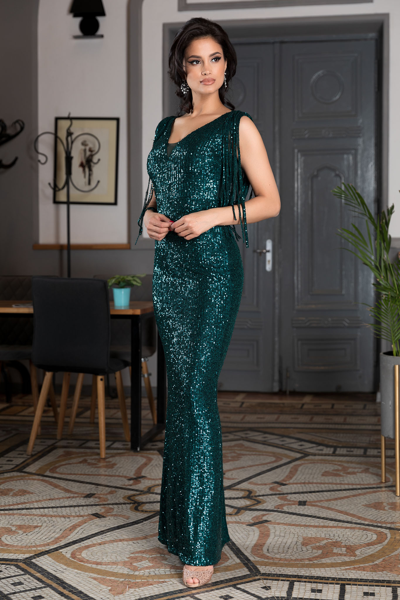 Rochie Attraction Gri