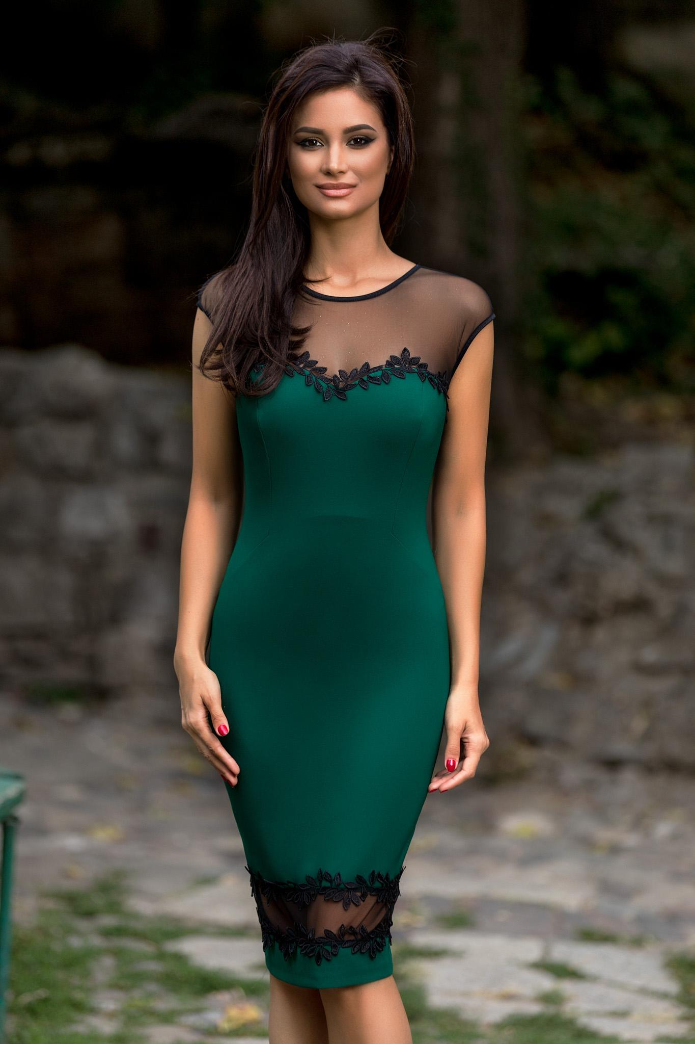 Rochie Ambra Verde