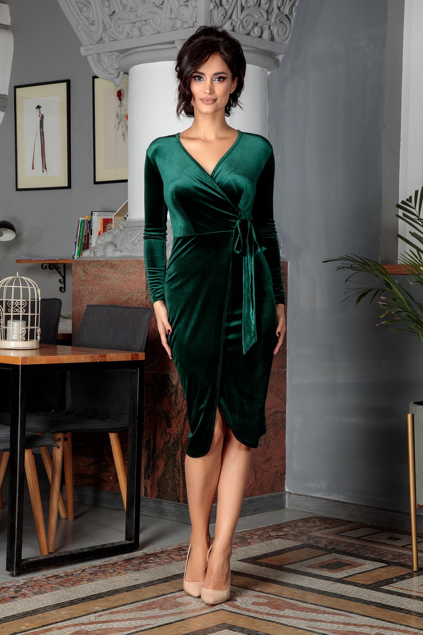 Rochie Irine Verde
