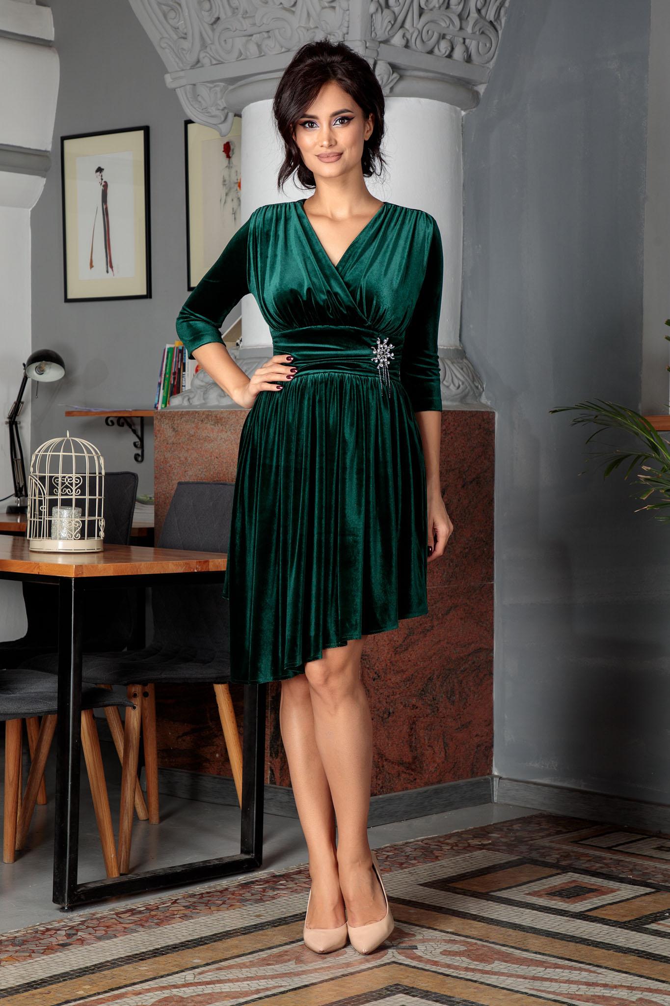 Rochie Iustine Verde