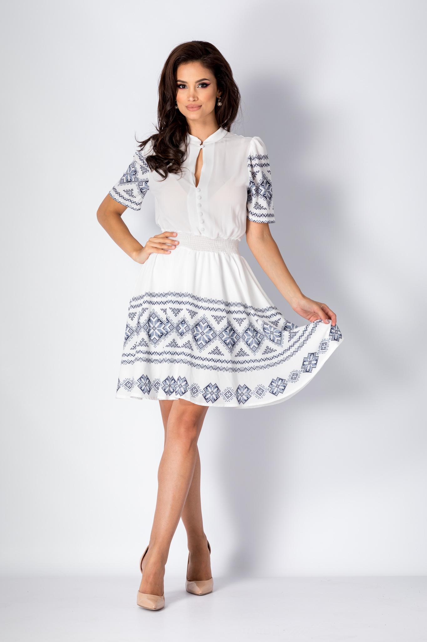 Rochie Enya Alba