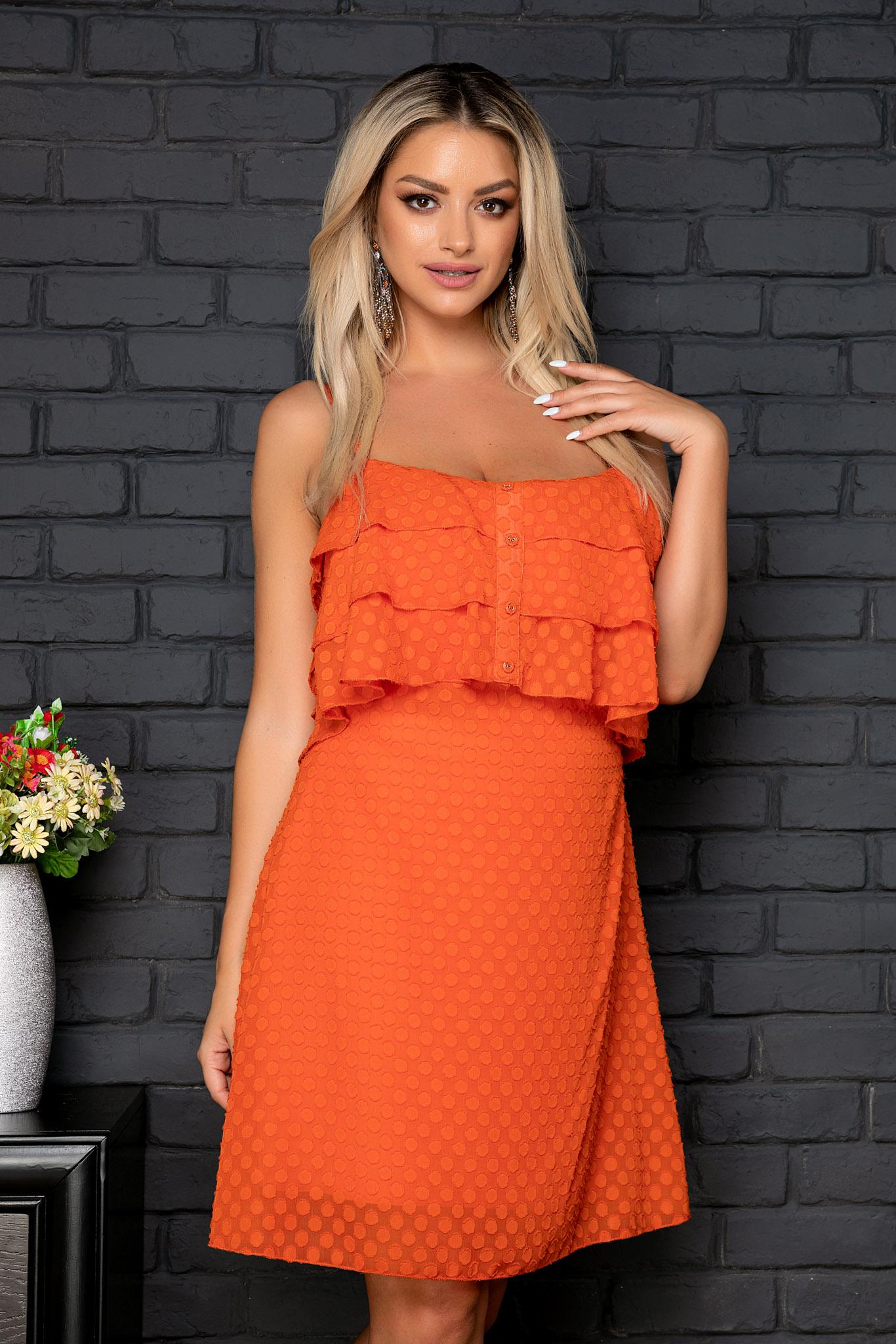 Rochie Jodie Orange