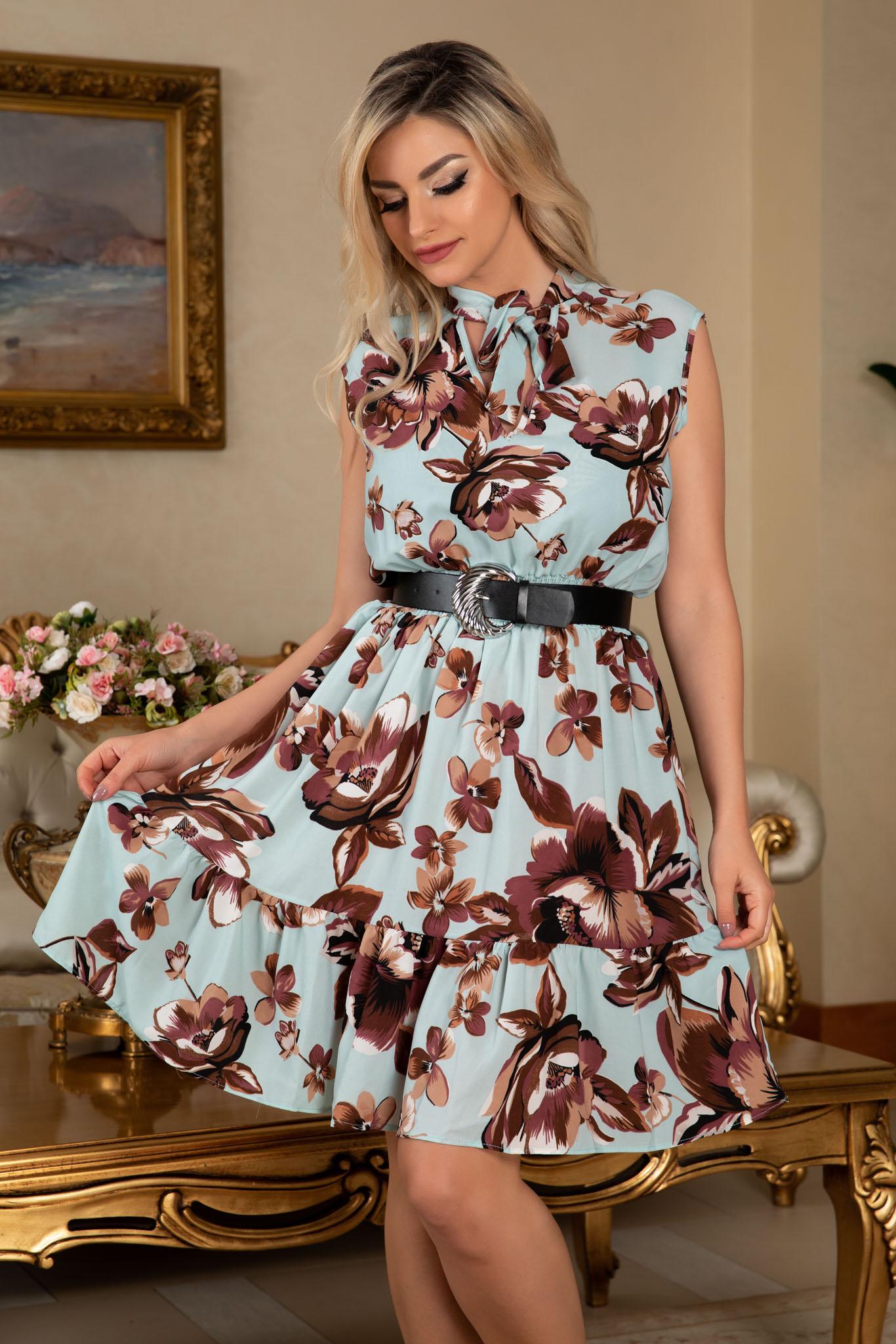 Rochie Lara Mint Floral
