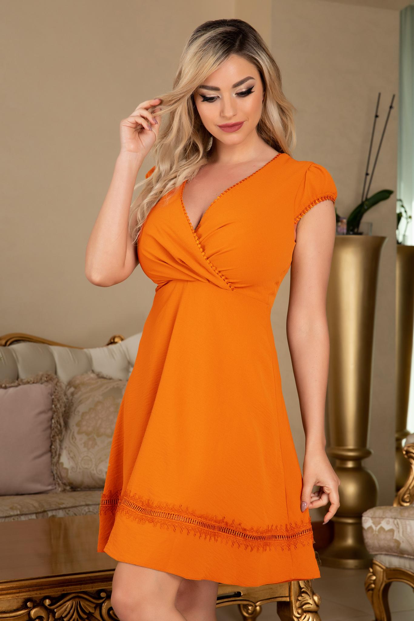 Rochie Debra Orange