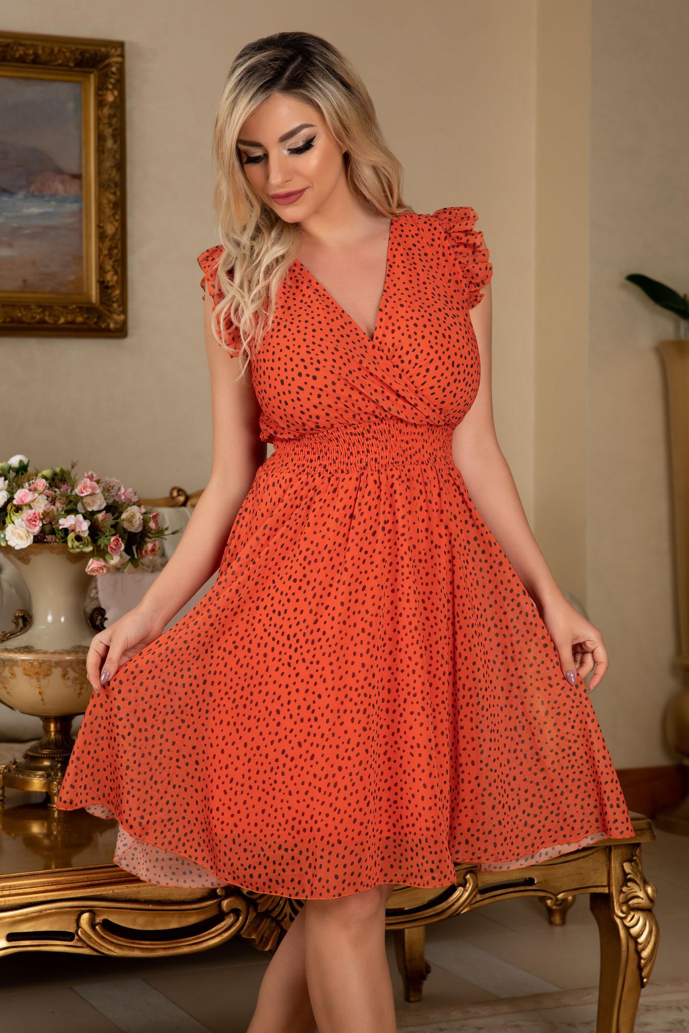 Rochie Iris Orange