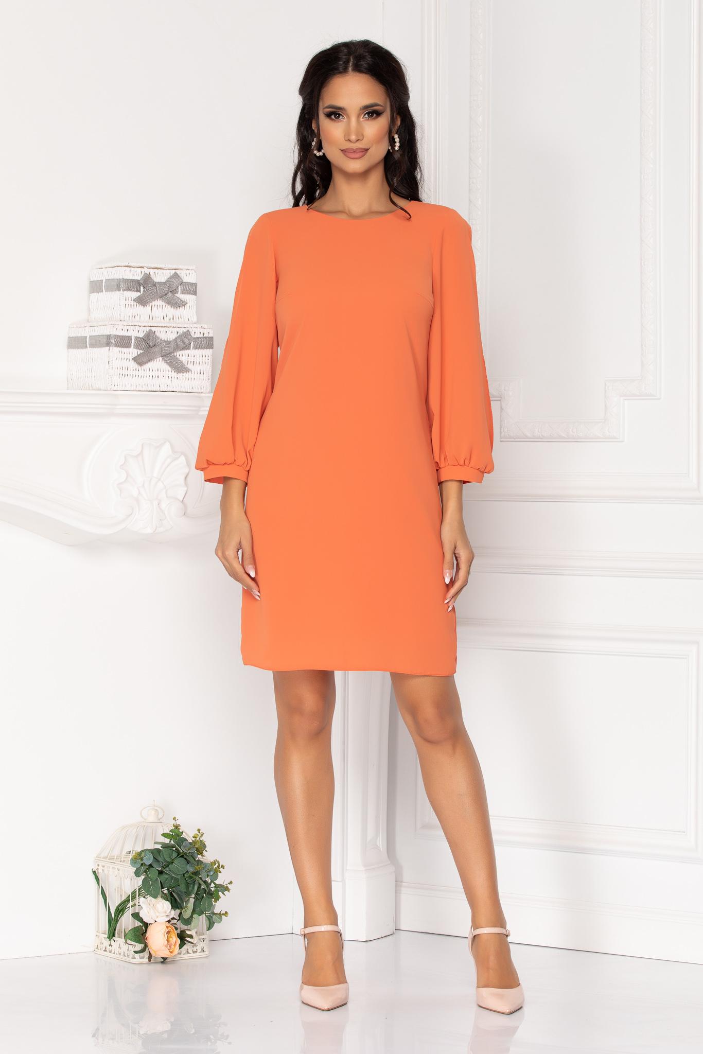 Rochie Moze Elora Orange